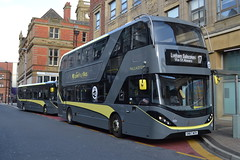 Blackpool Transport 570 YX19OPK & 454 SN67WZV (Will Swain) Tags: blackpool 27th october 2019 bus buses transport transportation travel uk britain vehicle vehicles county country england english fylde coast north west 454 sn67wzv
