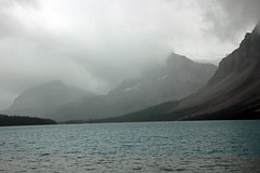Grey Clouds over Bow Lake (JB by the Sea) Tags: banff banffnationalpark alberta canada september2019 rockies rockymountains canadianrockies icefieldsparkway highway93 bowlake