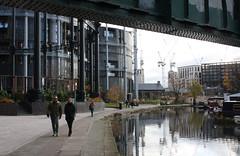 18.11.2019   (35) Regent's Canal, Gasholder Park (ginann) Tags: regentscanal london gasholder park