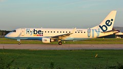 G-FBJH (AnDyMHoLdEn) Tags: flybe embraer egcc airport manchester manchesterairport 23l