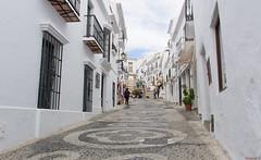 Frigiliana, Andalousie , Espagne, Spain - 2443 (rivai56) Tags: frigiliana andalousie espagne spain 2443 petite ruelle du village blanc small alley white escaliers stairs