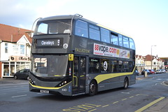 Blackpool Transport 440 SN67WZE (Will Swain) Tags: blackpool 27th october 2019 bus buses transport transportation travel uk britain vehicle vehicles county country england english fylde coast north west cleveleys 440 sn67wze