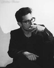 Me (104gian) Tags: biancoenero cigarette suit bw glass sigaretta smoke smoking portrait ritratto fumo me