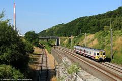 NMBS 768 - Engis (B) 11-07-2015. (Reizigerstreinen & trams) Tags: 4958 768 ms73 am73 trein train zug luik guillemins namen namur liege engis wallonië belgië belgium klassiek nmbs sncb
