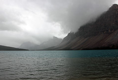 Grey Weather (JB by the Sea) Tags: banff banffnationalpark alberta canada september2019 rockies rockymountains canadianrockies icefieldsparkway highway93 bowlake