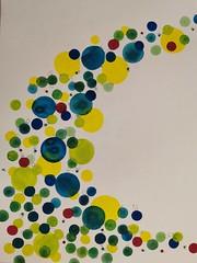 Aqua (Nelly et ses pinceaux) Tags: aquarelle creation nellyetsespinceaux painting