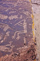 Petrified Forest NP: Petraglyphs - Flute Player (ARKNTINA) Tags: arizona az19 park randomnature random6 nationalpark petrifiedforestnationalpark petrifiedforest nature petrifiedforestnp petroglyph petroglyphs desert thegreatbasindesert greatbasindesert