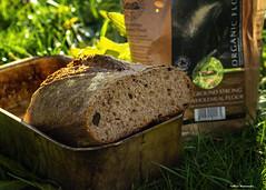 Sourdough bread (akatsoulis) Tags: sourdough bread flour nikon nikondx d5300 productphotography bokeh