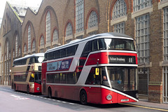 London General LT60 & LT50 (cybertect) Tags: 11 carlzeissplanart50mmf14mm cityoflondon ec2 goaheadlondon lgoc lt50 lt60 ltz1050 ltz1060 london londonec2 londongeneral londonbus newbusforlondon newroutemaster sonya7ii bus doubledecker route11 england unitedkingdom