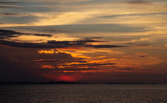 burning bright (0) (Ardan_Dojan) Tags: vivid sunset ocean sky coastal island bright clouds silhouette photoart nature naturelover seascape travel travelphotography naturephotography