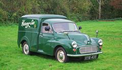 D20769.  1971 Morris 1300 Van. (Ron Fisher) Tags: morris morrisvan morris1300van van vehicle classicvehicle