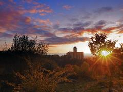 Another Girona's sunset... (Felip Prats) Tags: girona gironès capvespre atardecer sunset nwn