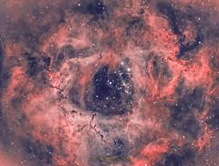 Rosetta Nebula HOO (first try) (philippeoros) Tags: astrometrydotnet:id=nova3758429 astrometrydotnet:status=solved