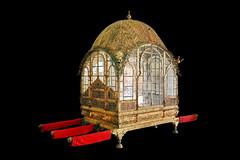 India - Rajasthan - Jodhpur - Mehrangarh Fort - Museum Daulat Khana - Palanquin Mahadol - 76d (asienman) Tags: india rajasthan jodhpur mehrangarhfort museumdaulatkhana palanquinmahadol asienmanphotography