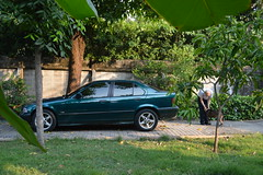 new car (the foreign photographer - ฝรั่งถ่) Tags: bmw car new our house hersey brotherinlaw bangkhen bangkok thailand nikon d3200