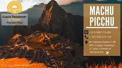 Machu Picchu es universalmente conocida tanto por sus imponentes restos arqueológicos, su impresionante ubicación y por el entorno natural que lo rodea, ello la convirtió en el destino favorito y recomendado por muchos viajeros. Haga su reserva de este ma (cuscotransportweb) Tags: machupicchufullday tourcusco perú cuscotransport cuscoperú travel adventures