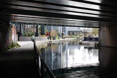 18.11.2019   (34) Regent's Canal, Gasholder Park (ginann) Tags: regentscanal london gasholder park