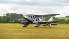 DaksDuxfordDay2-17 (Dreaming of Steam) Tags: 2019 75th airshow aircraft airplane dday daksoverduxford dehavilland dragonrapide duxford duxfordairmuseum vintage worldwar2 worldwartwo aviation plane