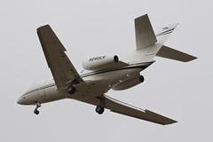 Kalitta Charters Dassault Falcon 20 N240CK (jbp274) Tags: cno kcno airport airplanes dassault falcon kalittacharters k9 bizjet