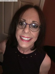 November 2019 (Girly Emily) Tags: crossdresser cd tv tvchix transvestite transsexual tgirl tgirls convincing feminine cute pretty sexy transgender boytogirl mtf maletofemale xdresser gurl glasses dress hull smile trans lgbt lgbtq