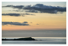 TOWAN HEADLAND - (NEWQUAY, CORNWALL) (Barry Haines) Tags: towan headland newquay cornwall fishing boat sea sky sunset gm 100400mm sony a7r4 handheld