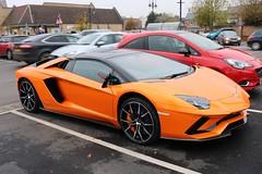 Lamborghini Aventador (R.K.C. Photography) Tags: lamborghini aventador italian car sportscar supercar 2018 orange ely cambridgeshire england unitedkingdom uk canoneos750d