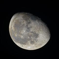 Moon (michel1276) Tags: moon mond astro nightsky astrophotography astrofotografie mirrorlens spiegelobjektiv rubinar vintagelens manualfocus russianlens sonya7iii sony