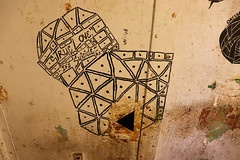 Hole in the Steel Wall (George Neat) Tags: wv westvirginia moundsville state penitentiary prison jail marshall county buildings structures tourism scenic scenery landscapes old historical haunted ghost paranormal georgeneat patriotportraits neatroadtrips