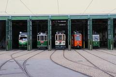 2019-10-28, Graz, Remise Steyrergasse (Fototak) Tags: tram strassenbahn gvb graz austria 293 121 93 251 206