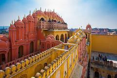 Jaipur - Hawa Mahal (Chas Pope 朴才思) Tags: 1022mm 2019 india jaipur pinkcity rajasthan hawamahal palaceofwinds
