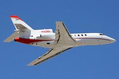 N192RS | Dassault Falcon 50 | R&S Aviation Inc (cv880m) Tags: california aviation aircraft airplane jetliner airport spotting planespotting bizjet vny kvny vannuys dassault breguet falcon falcon50 n192rs trijet rs