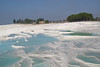 The thermal pools of Pamukkale