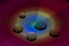 IMGL4885unedit (superdavebrem77) Tags: longexposure moire colours macro waterdrops