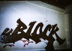 Black Fills (Rodosaw) Tags: 35mm lurrkgod getchamans chicago documentation street art film portrait analogico block black fill a continuar vol 4 graffiti