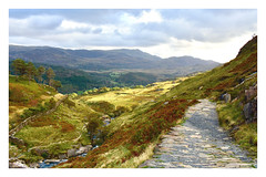 On a path to enlightenment. 19 (Phoenix Knight.) Tags: snowdonia wales gwynedd robindemel