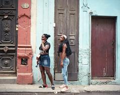Streets of Havana - Cuba (IV2K) Tags: havana habana lahabana centrohavana habanavieja caribbean street mamiya mamiya7 mamiya7ii mediumformat 120 120film kodak kodakportra kodakportra400 portra portra400 ishootfilm istillshootfilm