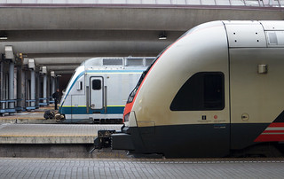 NSB Class 72 & Class 76 - Oslo Central Station