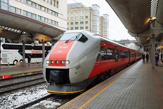 NSB Class BM 73.046 - Oslo Central Station