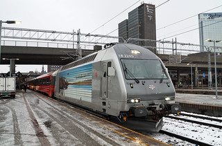 NSB Class El 18 - Oslo Central Station