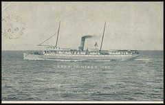 c. 1907 Robert W. Buller News Service Postcard - Canadian Pacific Railway Steamship Princess May (Treasures from the Past) Tags: princessmay steamer steamship canadianpacificrailwaysteamship postcard vintage britishcolumbia tynehead robertwbullernewsservice robertwbuller newsservice cprss