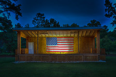 Ready For Tomorrows Band (Brad Prudhon) Tags: 2019 edallenscampground june lanexa stage virginia americanflag patriotic