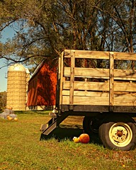 Fall at the Farm (Kamera Clips) Tags: farm pumpkin tractor fall season seasons travel family fun michigan