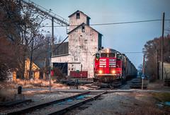 BLOL 7591 - Chatsworth, Illinois (backlitkid) Tags: freight trains train illinois shortline geeps railroading railfanning