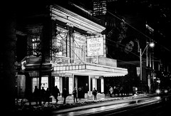 Royal Alexandra Theatre (Dan Haug) Tags: royalalexandratheatre royalalex toronto night blackandwhite monochrome xpro2 xf35mmf14 xf35mmf14r fujifilm fujixseries mirrorless entertainmentdistrict explore explored