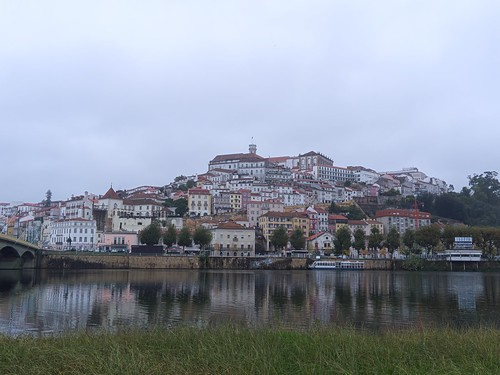Coimbra from the other side of the Mondego River