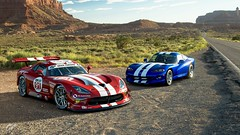Snakes in the Desert (chumako@bellsouth.net) Tags: racecar cars scapes gaming ps4pro polyphony ps4 playstation usa gt3r gts viper dodge srt