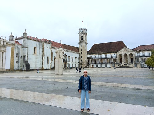 In the heart of the Universidade de Coimbra, Portugal's first university
