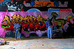 Au travail ! (Edgard.V) Tags: paris parigi street art urban urbano arte callejero mural graffiti