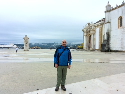 The University sits at the highest point in Coimbra