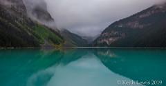 Lake Louise  At  Daybreak  ( four shot HDR) (keithhull) Tags: lakelouise firstlight dawn lake mountains mist banffnationalpark alberta canada 2019
